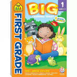 School Zone Big First Grade Learning Tablet Workbook Ages 6-7