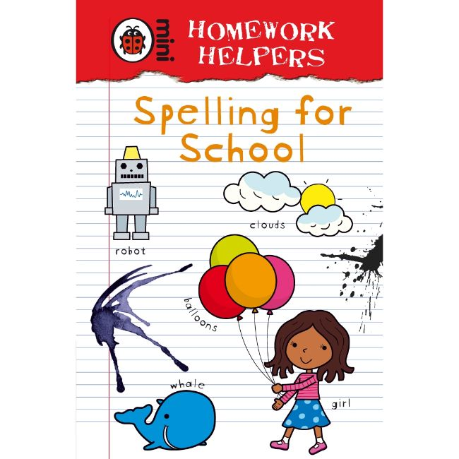Ladybird Homework Helpers, Spelling for School