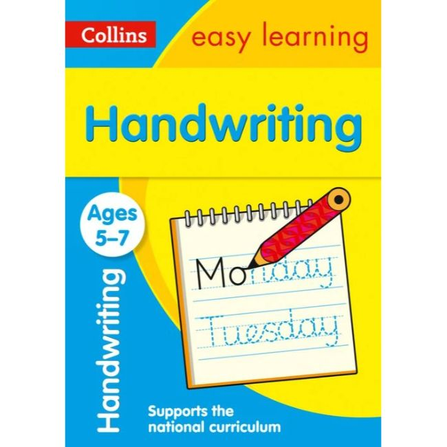 Collins Easy Learning Activity Book, Handwriting Ages 5-7, BY Collins UK