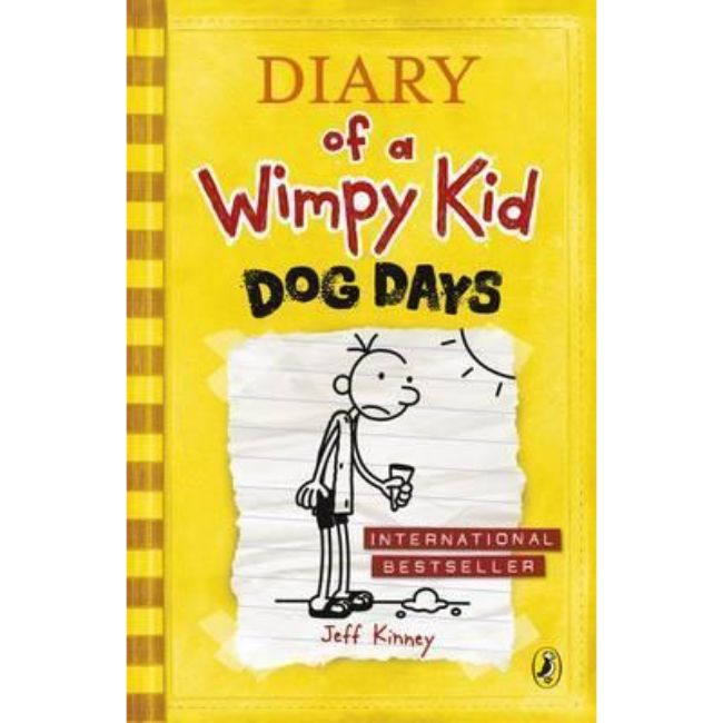 Diary of a Wimpy Kid, Book 4, Dog Days BY Jeff Kinney