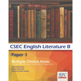 CSEC English Literature B, Paper 1, BY C. Narinesingh