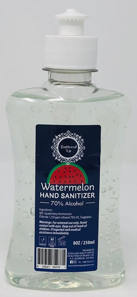 Buttered Up Hand Sanitizer Gel, Watermelon Scent, 250ml