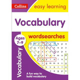 Collins Easy Learning Word Search, Vocabulary Ages 7-9, BY Collins UK