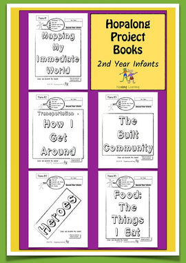 Hopalong Project Books 2nd Year Infants Pack, BY L. Powell Cadette