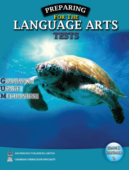 Preparing For Language Arts Test Grade 3 (Standard 2) BY J. Hagely