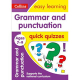 Collins Easy Learning Quick Quizzes, Grammar & Punctuation Ages 7-9, BY Collins UK
