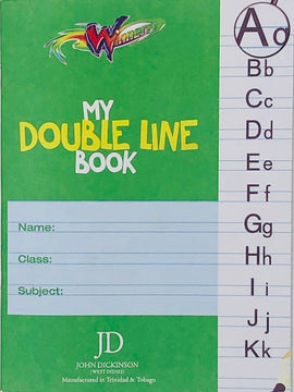 Winners, Exercise Book, My Double Line, 56pgs
