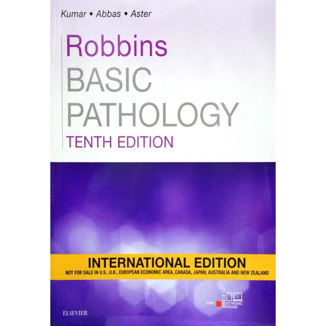 Robbins Basic Pathology International Edition, 10ed, BY V. Kumar
