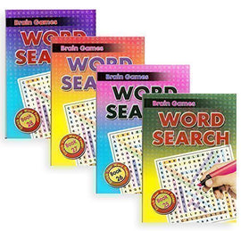 Word Search, Assorted, Activity Book