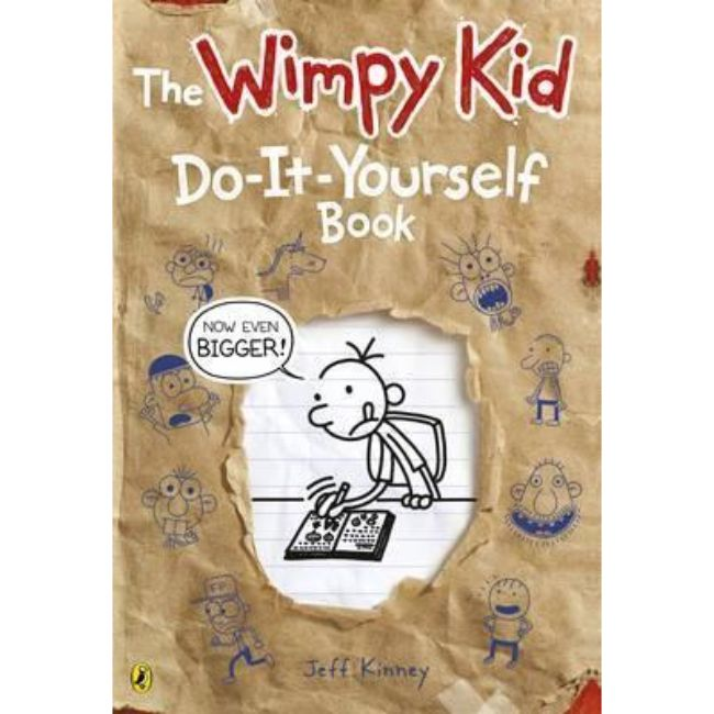 Diary of a Wimpy Kid, Do It Yourself Book Large format BY Jeff Kinney