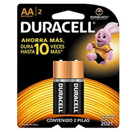 Duracell, Battery, AA, 2count