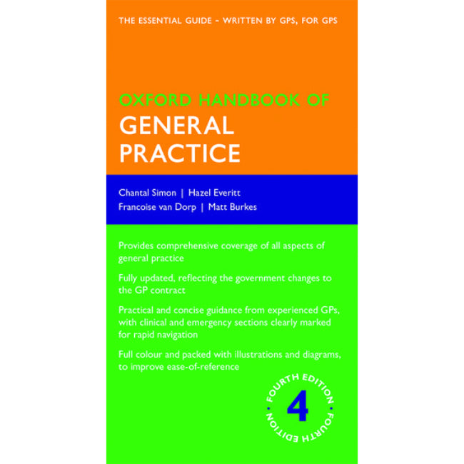 Oxford Handbook of General Practice, 4ed BY Simon