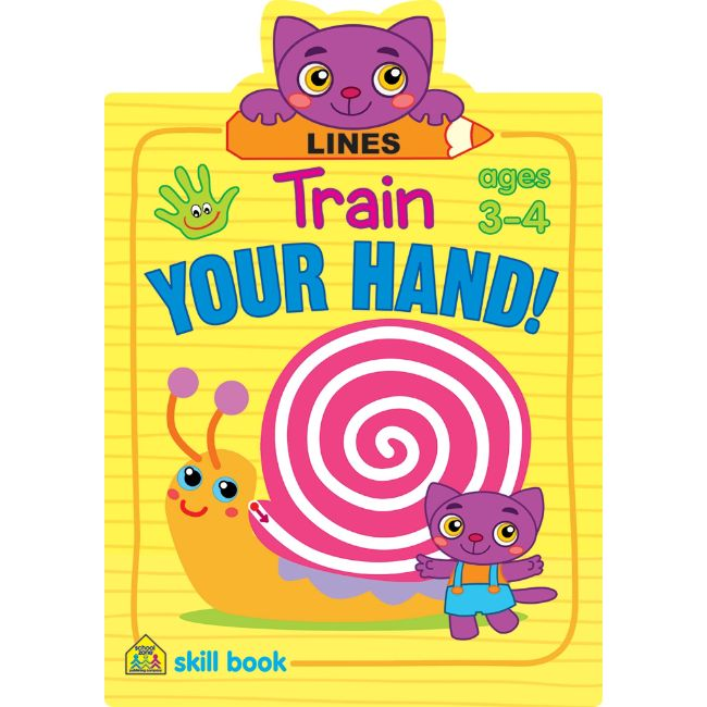 School Zone Train Your Hand! Lines Ages 3-4