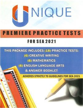 Unique Premiere Practice Tests for S.E.A. 2021