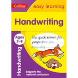 Collins Easy Learning Activity Book, Handwriting Ages 7-9, BY Collins UK