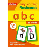 Collins Easy Learning Flashcards, ABC Ages 3-5, BY Collins UK