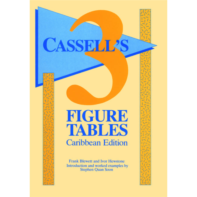 Cassell's, 3 Figure Tables Caribbean Edition , Quansoon, L