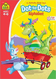 School Zone Dot-To-Dot Alphabets, Ages 4-6