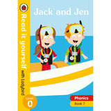 Read It Yourself Level 0 Book 7, Jack and Jen