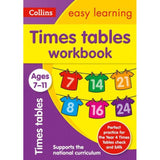 Collins Easy Learning Activity Book, Times Tables Workbook Ages 7-9, BY Collins UK