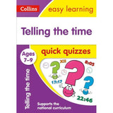 Collins Easy Learning Quick Quizzes, Telling the Time Ages 7-9, BY Collins UK