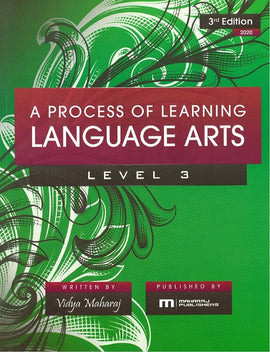 A Process of Learning Language Arts, Level 3, 3ed 2020 BY V. Maharaj