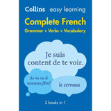 Collins Easy Learning Complete French Grammar, Verbs and Vocabulary, 2ed BY Collins Dictionaries