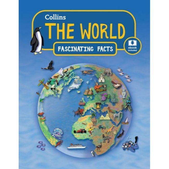Collins Fascinating Facts, The World, BY Collins UK