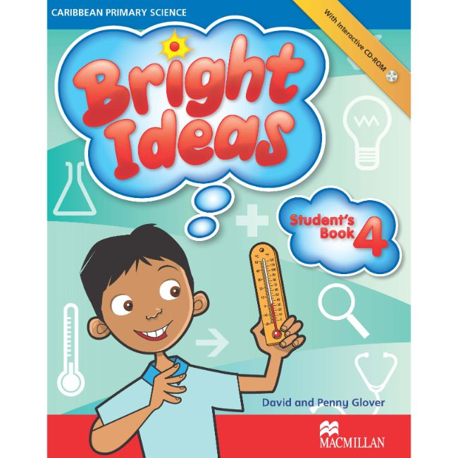 Bright Ideas: Primary Science Student's Book 4 with CD-ROM BY D. Glover