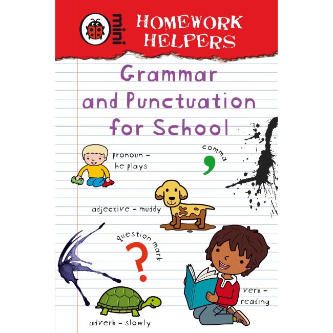 Ladybird Homework Helpers, Grammar and Punctuation for School