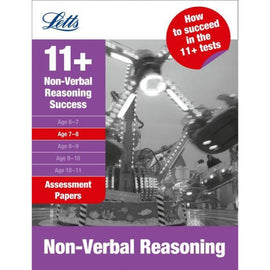 Letts 11+ Success, Non-Verbal Reasoning Age 7-8: Assessment Papers, BY H.Hughes