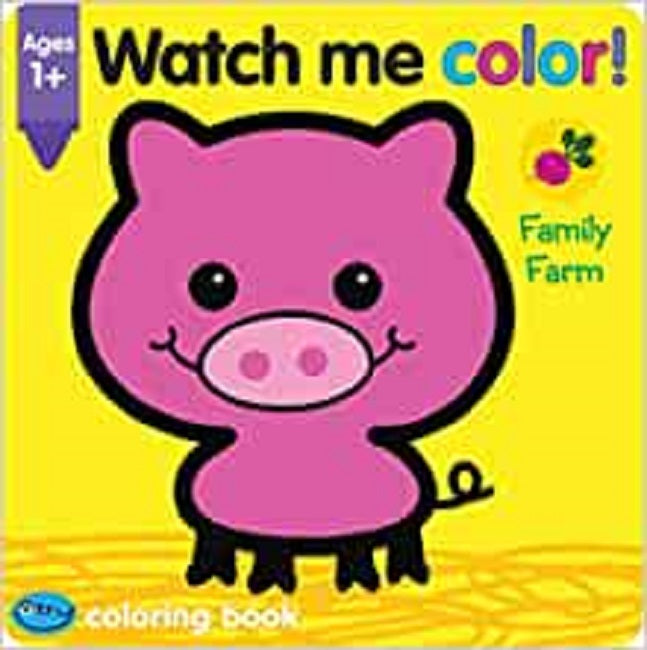 School Zone Watch Me Color! Family Farm Ages 1+