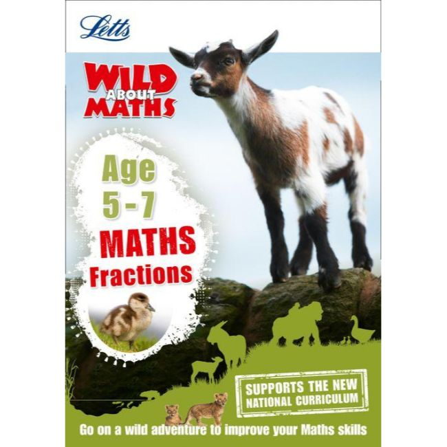 Letts: Wild About Maths, Fractions Age 5-7, BY Letts KS1