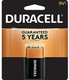 Duracell, Battery, 9V, 1count