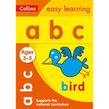 Collins Easy Learning Activity Book, ABC Ages 3-5, BY Collins UK