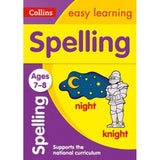 Collins Easy Learning Activity Book, Spelling Ages 7-8, BY Collins UK