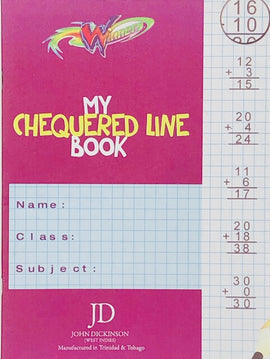Winners, My Chequered Line Book