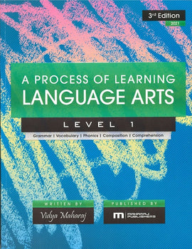 A Process of Learning Language Arts, Level 1, BY V. Maharaj