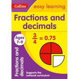 Collins Easy Learning Activity Book, Fractions and Decimals Ages 7-9, BY Collins UK