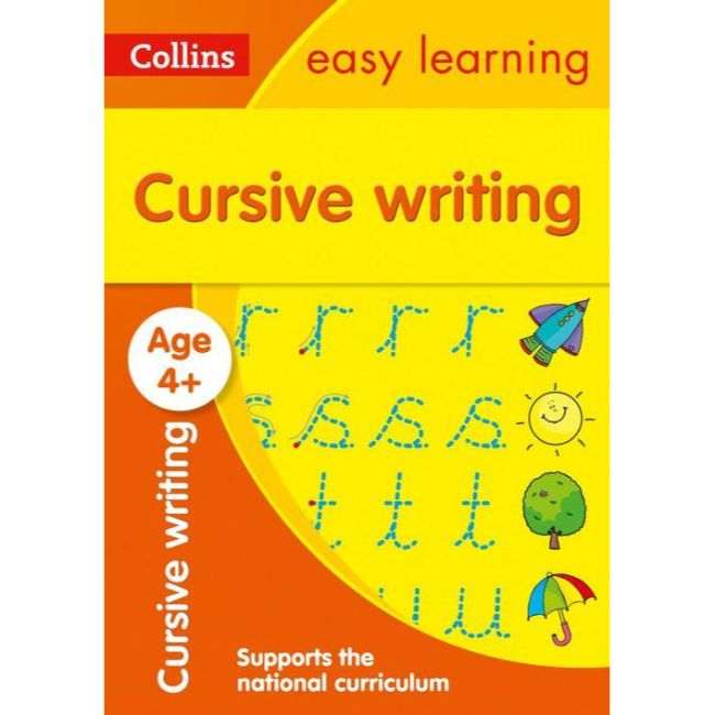 Collins Easy Learning Activity Book, Cursive Writing Ages 4+, BY Collins UK