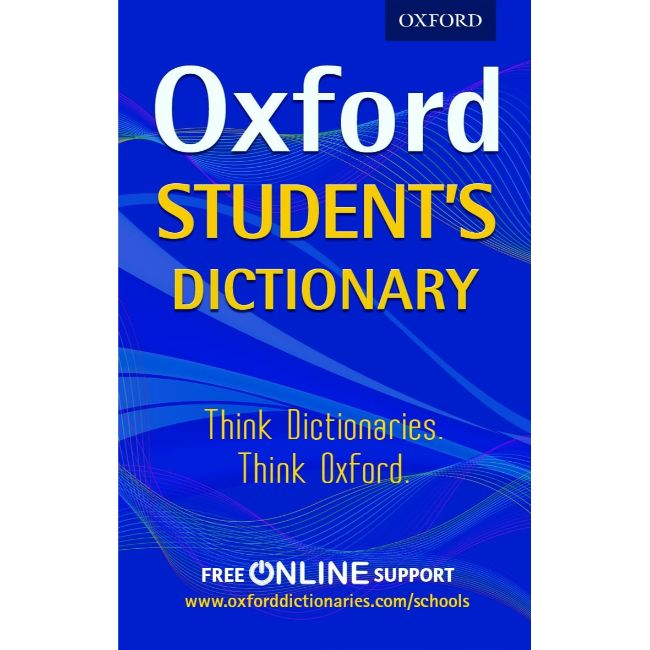 Oxford Student's Dictionary, Hardcover, 2012, BY Oxford Dictionaries