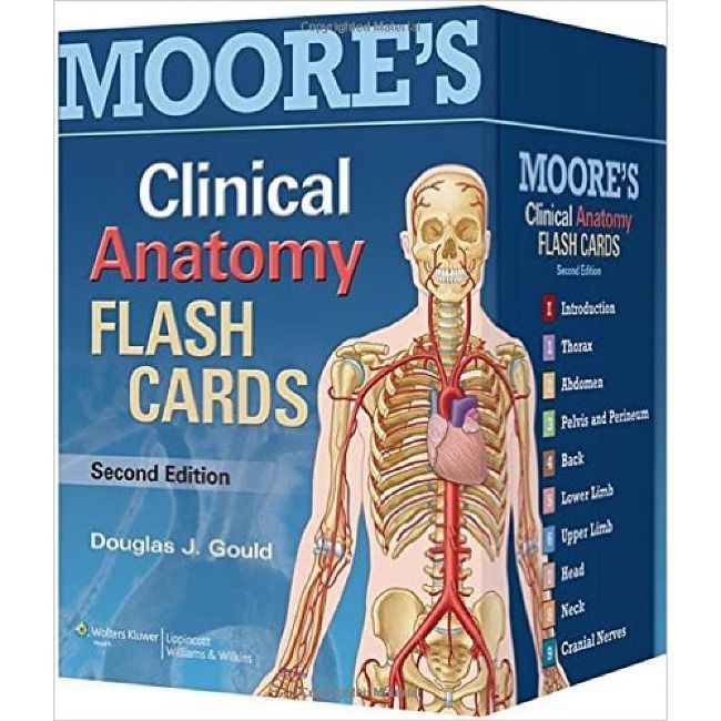 Moore's Clinical Anatomy Flash Cards 2E