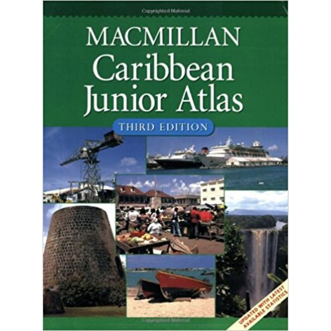 Macmillan Caribbean Junior Atlas 3ed BY Macmillan Education