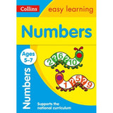 Collins Easy Learning Activity Book, Numbers Ages 5-7, BY Collins UK