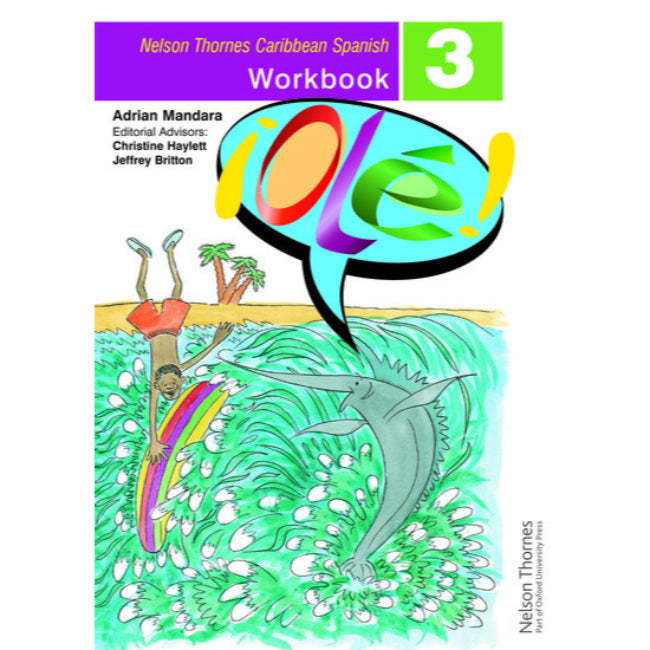 Ole, Spanish Workbook 3 for the Caribbean , Mandara, Adrian; Haylett, Christine