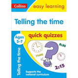 Collins Easy Learning Quick Quizzes, Telling the Time Ages 5-7, BY Collins UK