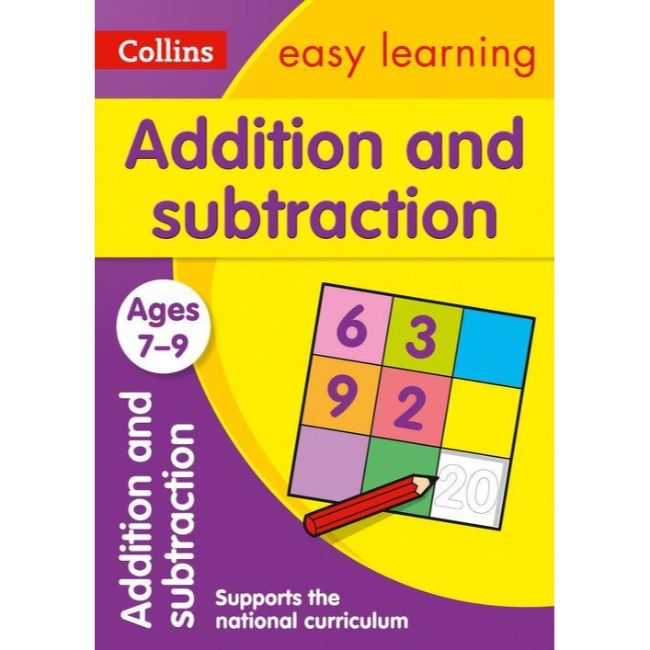 Collins Easy Learning Activity Book, Addition and Subtraction Ages 7-9, BY Collins UK