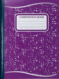 Winners, Composition Notebook, Assorted Colours, 9.75 x 7.5, 200pgs
