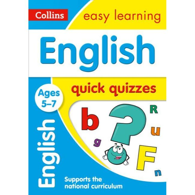 Collins Easy Learning Quick Quizzes, English Ages 5-7, BY Collins UK
