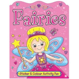 Fairies Sticker And Colour Activity Fun, Book 1
